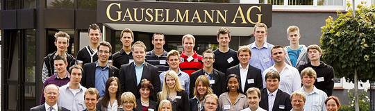 Gauselmann AG, Ausbildungsabsolventen; Bild: Gauselmann AG