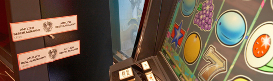 Glücksspiel-Automaten bei Razzia einkassiert