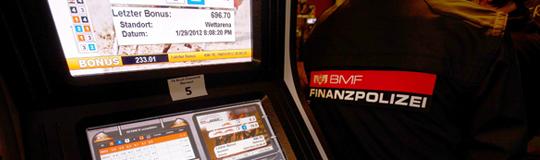 Wieder Glücksspiel-Razzia