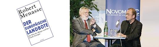 Robert Menasse hat ein kluges Europa-Buch geschrieben - aber alle reden über Sponsor Novomatic
