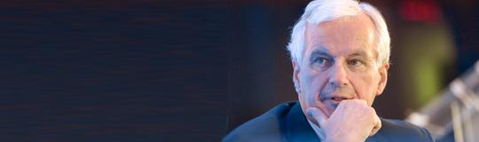 EU-Kommissar Michel Barnier stellt Aktionsplan für Online-Glücksspiele vor