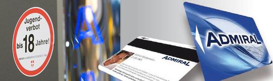Novomatic hat in NÖ die ersten sieben Admiral-Spielhallen auf die neuesten strengen Spielerschutz-Maßnahmen umgerüstet
