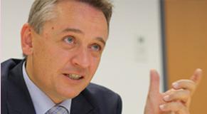 Der Leiter der Stabsstelle Finanzpolizei im BMF, Wilfried Lehner