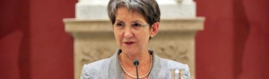 Die Präsidentin des Nationalrats Barbara Prammer