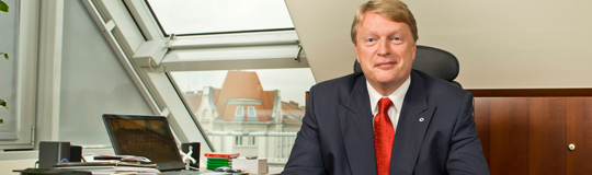 Mag. Dietmar Hoscher, Vorstandsmitglied der Casinos Austria