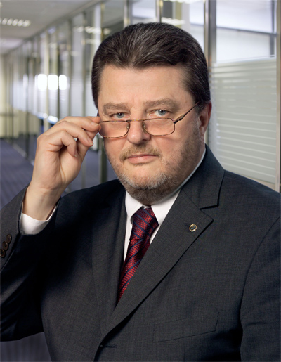 Prof. Johann F. Graf, Gründer und Mehrheitseigentümer der Novomatic AG