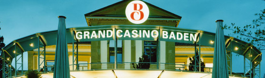 Grand Casino Baden, Schweiz