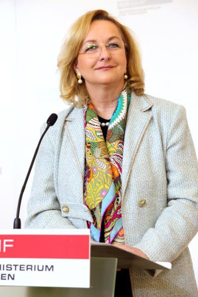 Finanzministerin Dr. Maria Fekter