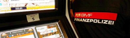 Finanzpolizei geht schärfer gegen illegales Glücksspiel vor
