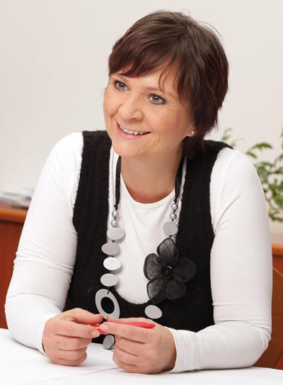 Klubobfrau Claudia Klimt-Weithaler