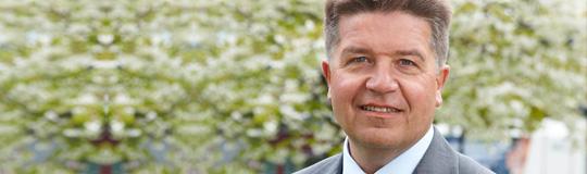 Landesrat Ing. Reinhold Entholzer; Bild: Land OÖ