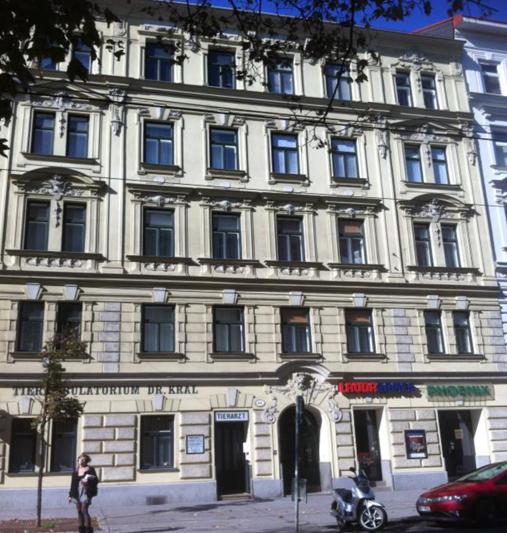 Hier wohnte Thomas Sochowsky - hier geschah die Bluttat: 1200 Wien, Klosterneuburgerstrasse