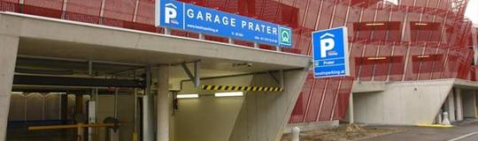 Eröffnung Garage und Bürohaus Prater