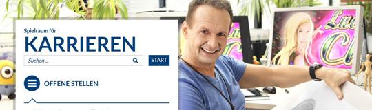 Das neue NOVOMATIC-Karriereportal careers.novomatic.com