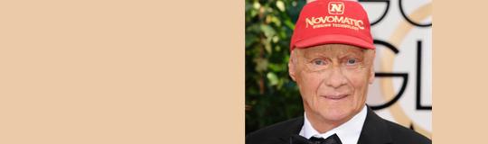 Niki Lauda wird Markenbotschafter für Novomatic