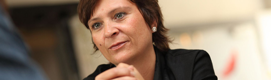 KPÖ-Klubobfrau Claudia Klimt-Weithaler