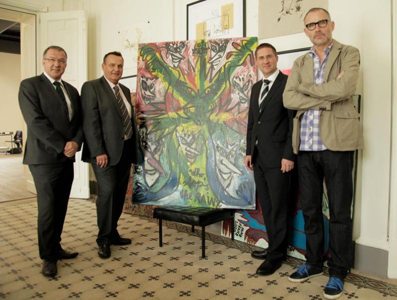Welser IT-Unternehmer als Kunstmäzen