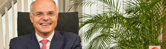 Dr. Karl Stoss, Generaldirektor der Casinos Austria AG und Vorstandsvorsitzender der Österreichische Lotterien GmbH