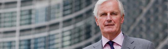 Michel Barnier, für Binnenmarkt und Dienstleistungen zuständiger Kommissions-Vizepräsident