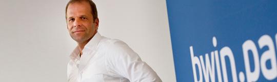 bwin.party- CEO Norbert Teufelberger; Bild: bwin.party
