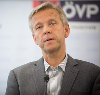 Dr. Reinhold Lopatka, Staatssekretär für europäische und internationale Angelegenheiten; Bild: ÖVP, Jakob Glaser