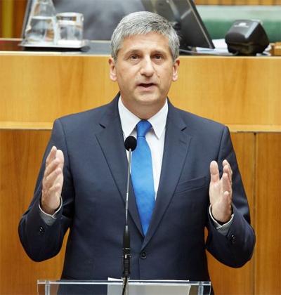 Finanzminister Dr. Michael Spindelegger; Bild: BMF/Schneider