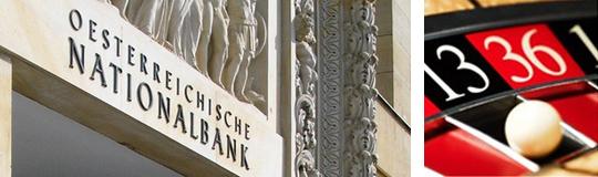Nationalbank vor Abschied vom Glücksspielmarkt; Bild: OeNB/Casinoas Austria