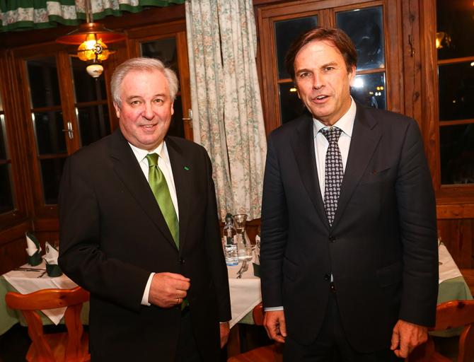 Die Steiermark hat einen verantwortungsvollen Weg beim  Glücksspiel beschritten: LH. Stv. Hermann Schützenhöfer und LH Mag. Franz Voves