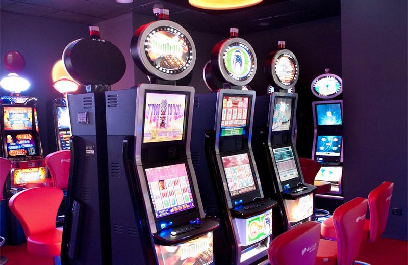 VLT Geräte der CASAG; Bild: Casinos Austria