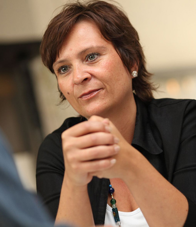 Klubobfrau Claudia Klimt-Weithaler; © KPÖ Stmk