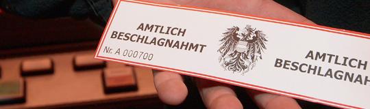 Erste Razzien der Finanzpolizei in Wien