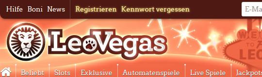 LeoVegas wirbt unverfroren per OTS-Aussendung
