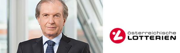 Vorstandsdirektor DI Friedrich Stickler; Bild:© Österreichische Lotterien GmbH
