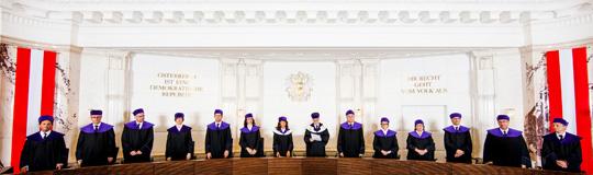 Die 14 Verfassungsrichterinnen und Verfassungsrichter