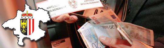 Oberösterreich: Liste der illegalen Geldspielautomaten