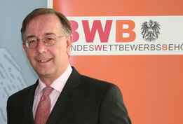 Generaldirektor der Bundeswettbehörde, Dr. Theodor Thanner; Bild: Helmut Greiner, Bundeskriminalamt