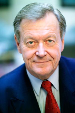 Dr. Leo Wallner, langjähriger CASAG-Boss