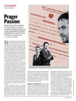 Format: Prager Passion (Ausgabe 46, 13.11.2015)