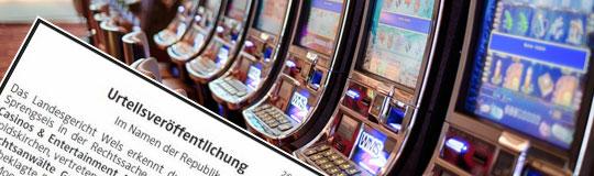 65 rechtskräftige UWG-Urteile gegen illegales Automaten-Glücksspiel © Spieler-Info