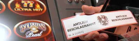 275 illegale Geräte bundesweit seit Anfang 2016 beschlagnahmt. © BMF