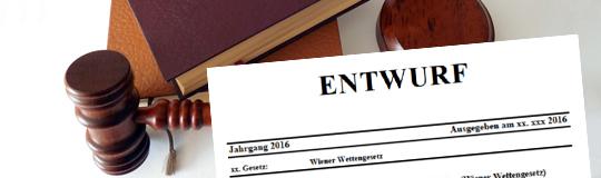 Das neue Wiener Wettengesetz. © Spieler-Info