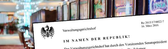 Lesen Sie jetzt das gesamte VwGH-Urteil! © Spieler-Info.at