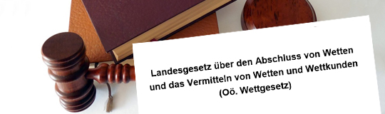 Lesen Sie die Neuerungen im oberösterreichischen Wettgesetz. © Spieler-Info.at