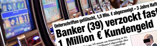 HEUTE Zeitung schreibt: Banker verzockt Kundengeld. © Spieler-Info.at / Heute.at