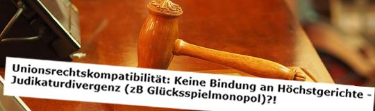 Nun hat Dr. Alfred Grof seine juristische Expertise in einem angesehenen Fachmagazin veröffentlicht. © Spieler-Info