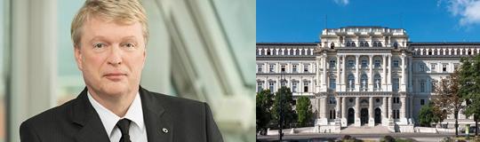 Prof. KR Mag. Dietmar Hoscher ist seit 1. Jänner 2007 Mitglied des Vorstandes. © Stephan Huger