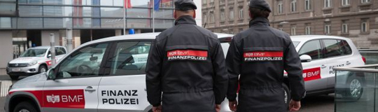 Die Finanzpolizei im Einsatz © BMF