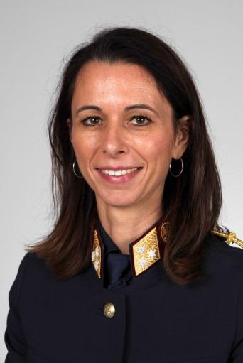 Dr. Alexandra Löberbauer, Leiterin des Stadtpolizeikommandos Wels