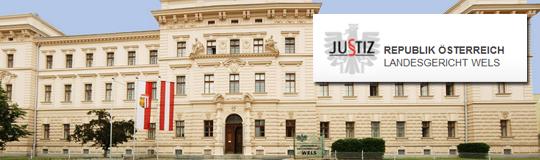 Urteil des Landesgerichts Wels veröffentlicht. © LG Wels