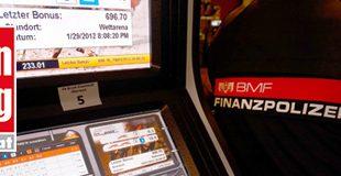 KRONE Wien / Zeitgleiche Razzien gegen die Glücksspielmafia